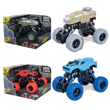 4x4 Bigfoot Crack Car 1/12 RC Car 4WD Climbing Car Off-Road Vehicle Graffiti Wheel Shock Absorber Toys for Boys Children's Toy high end rc off road vehicle car 0755a 1 8 super large 2 4g 4wd rc crawler rtr toy rc car bigfoot climbing car for kids toy
