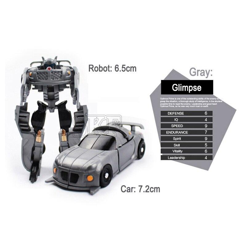 Jouet Cadeau Offre Figurines Pour Garde Véhicule Spéciale Robot Enfants Mini Transformation Garçons Voitures Déformation WH9ID2YE