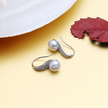 925 Sterling Silver natural pearl jewelry set