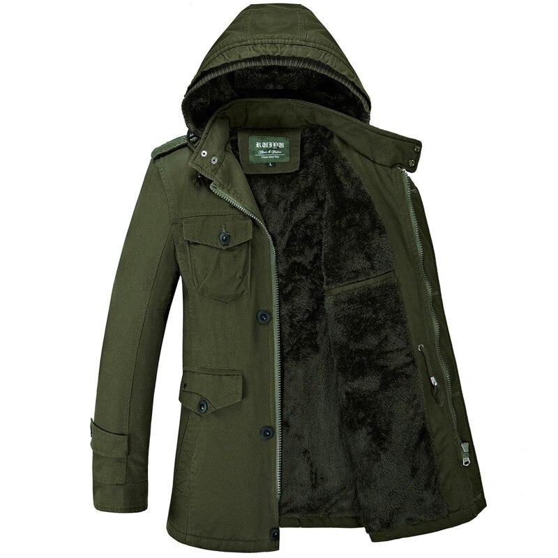 New Design Winter Jacket Men 2019 Fashion Casual Cotton Padded Jacket Thick Warm Fleece Jacket Overcoat Parka Men Plus Size 6XL