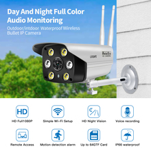 LOOSAFE Surveillance AP Hotspot Wifi Mouvement Caméras De Sécurité Extérieure IP Caméra Avec Vision Nocturne Polychrome onvif Caméra IP WIFI