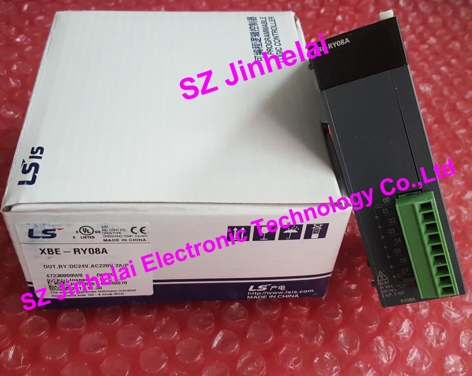 New and original LS 8 point Relay output  XBE-RY08A 100% new and original xbe ry16a ls lg plc 16 point relay output