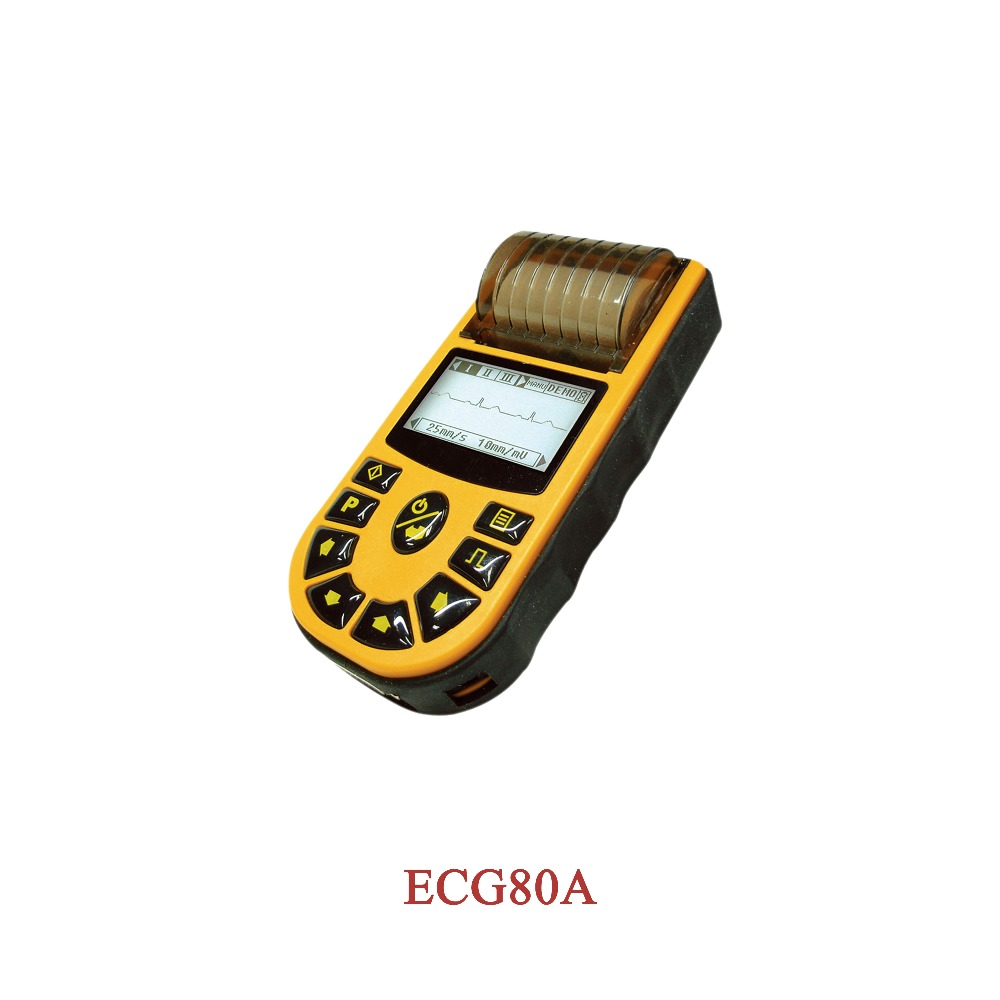 CONTEC CE,HandHeld Digital Single Channel ECG Electrocardiograph +Free Software,ECG80A