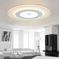 Nordic Simple Round Acrylic Led Ceiling Lights Lustre PMMA Bedroom Dimmable Led Ceiling Lamp Novelty Led Lighting Light IY108224