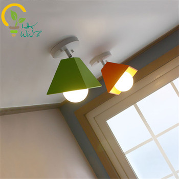 Colorful Led Ceiling Lights Baby Children's Room Ceiling Lamp Lustre Luminarias Minimalist Plafonnier Moderne Lamparas de Techo