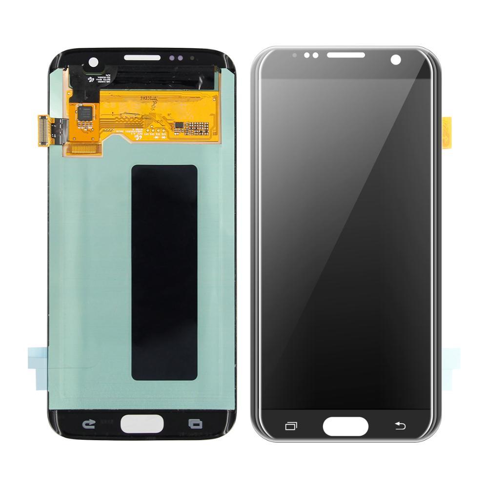 Écran LCD SUPER AMOLED pour Samsung Galaxy S7 Edge G935 G935V G935A G935F écran tactile LCD numériseur assemblée + outils