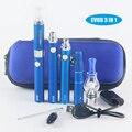 Электронная сигарета Evod МТ3 3 в 1 электронная сигарета Испаритель сухая трава Воск Жидкости Электронной Сигареты Комплект Evod mt3 Распылителя жидкостью vape