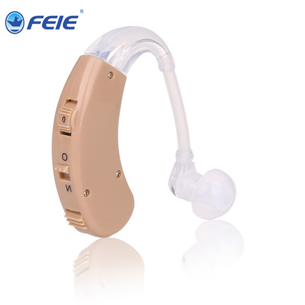 Promotional dispositivos auditivo Behide the Ear Voice Amplifier for Hearing loss people S-998 675 hearing aid battery devices for hearing mini digital hearing aid voice recorder minds aparelho auditivo 6 canais s 16a free shipping