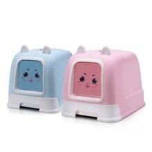 Portable Cat Litter Box Dog Pet Supplies Easy Clean Waterproof Anti Splash Bedding Doormat Poop Scooper 30SP022