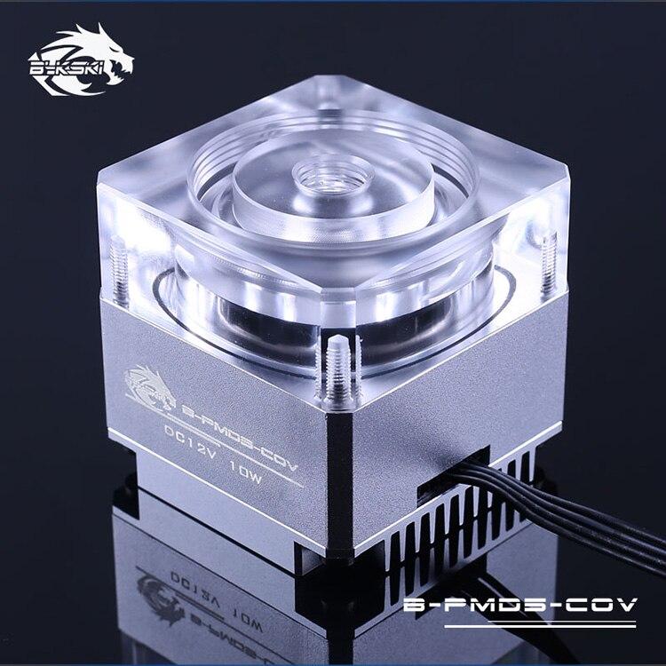 Black,Blue,Grey Original Bykski B-PMD3-COV Water Cooling PC Cooler DDC Pump 6 Meters Qdistance 5000rpm 600L/H Flow Rate цены
