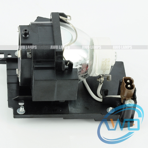 RLC-053 compatible lamp with housing for VIEWSONIC PJL9371