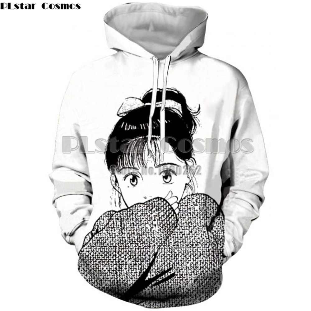 Plstar cosmos anime girl sexy cute ahago bulma aqua and megumin hoodies hooded pullover hoodies mens