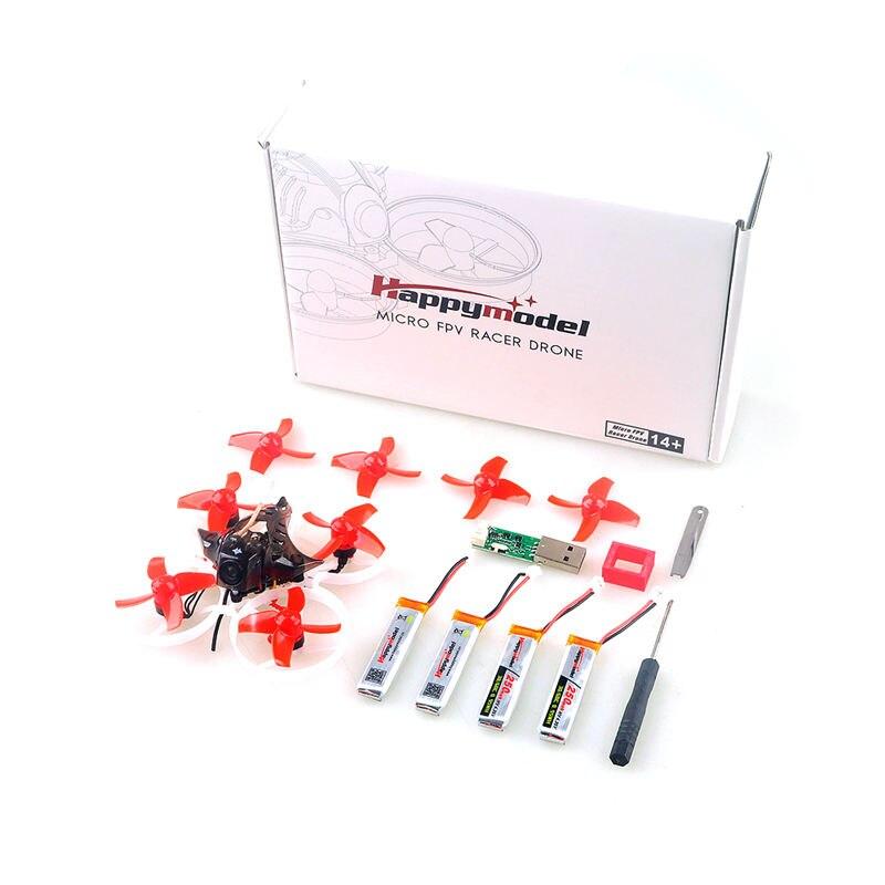 Happymodel Mobula7 75mm Bwhoop Crazybee F3 Pro FPV OSD 2 S Corrida Zangão Quadcopter w/Upgrade BB2 ESC 700TVL BNF