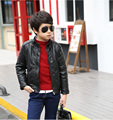 The new boy's winter jacket cuhk in 2016 children's leisure fashion collar with velvet with thick fur