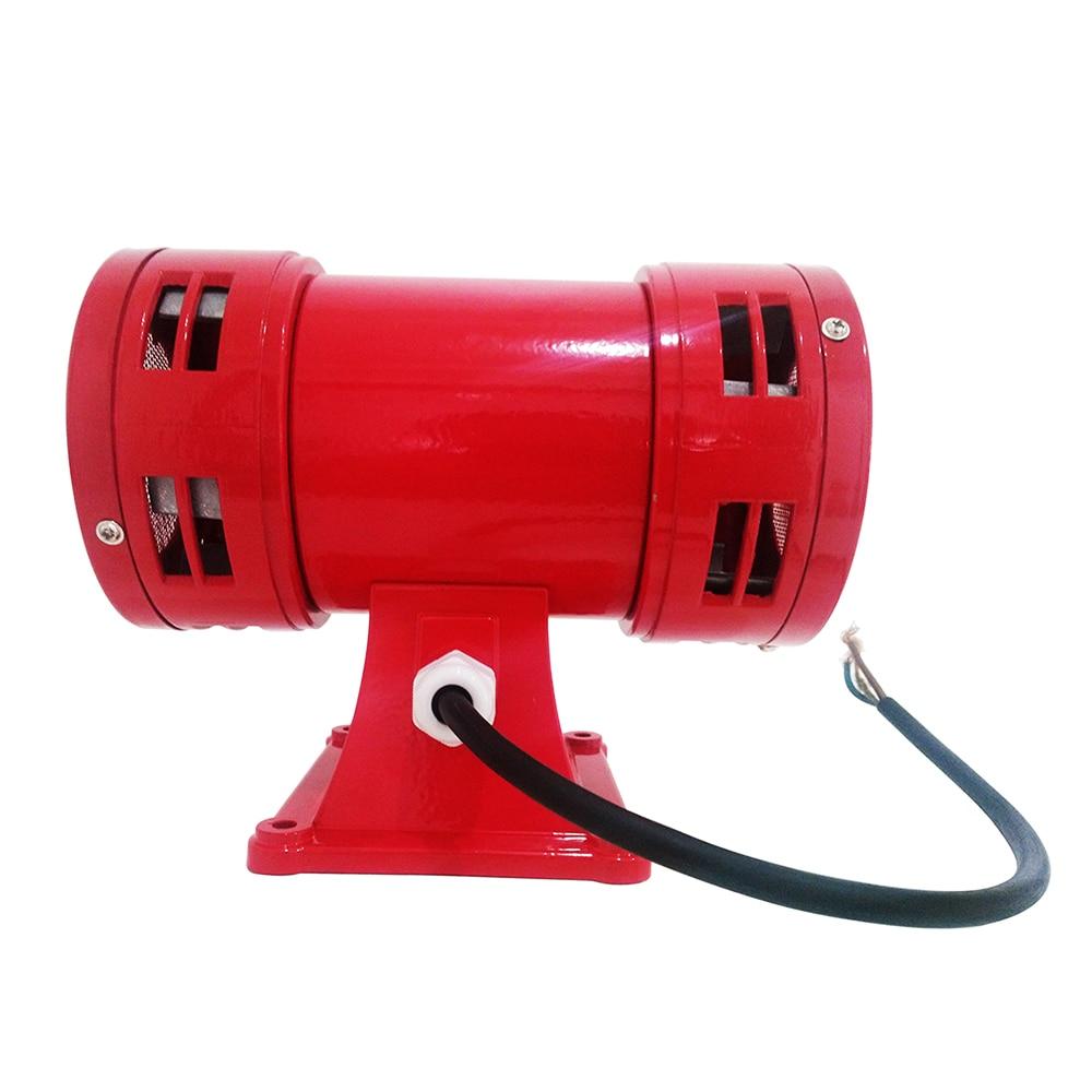 цена на Motor siren MS-490 220V High decibel Air Raid Siren Horn Motor mining industry Double Industry Boat Alarm