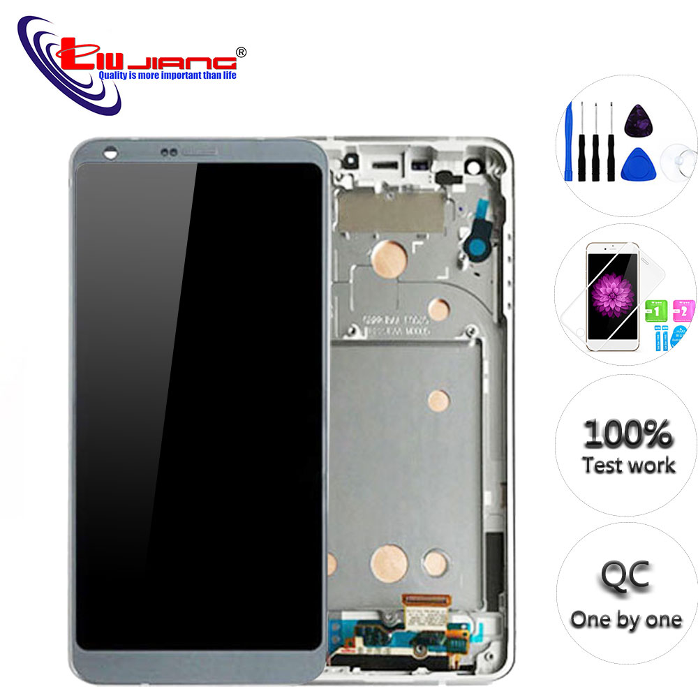 Original 5 7 IPS For LG G6 H870 H871 H872 LS993 VS998 Touch Screen Digitizer Assembly