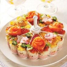 Kreative Bakeware Pudding Tasse Melaleuca Sushi-Reis-Form Eierkocher Form Küche Werkzeuge B5