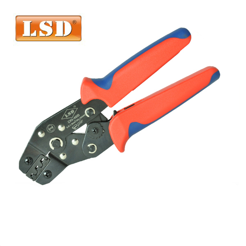 dupont crimp tool,Cable clamp use for terminal diameter0.1-1mm2 DN-28B pin connector crimping tool 1000pcs dupont jumper wire cable housing female pin contor terminal 2 54mm new