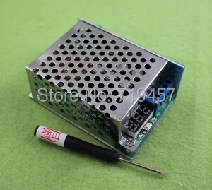 FREE SHIPPING 10PCS/LOT 10A High Power DC-DC DC Step-down Module 24v12v5V Adjustable Voltage Display