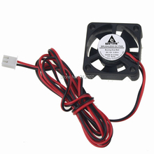 1PCS 3D Printer Cooling Fan 30mm 3010s 30x30x10mm DC 12V 2Pin Cooler