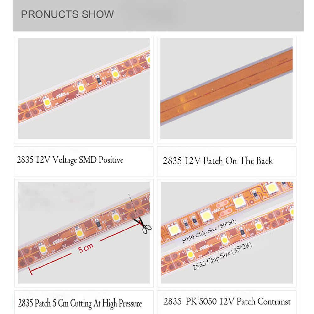 DC 12 V ไฟ led 2835 RGB 1 M 2 M 3 M 4 M 60LED/M Led โคมไฟ SMD TV Backlight Led Strip