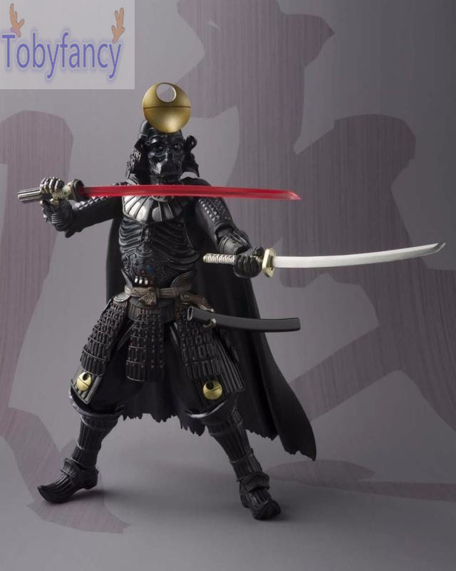 все цены на  Star Wars Action Figure Darth Vader Sic Samurai Taisho PVC MOVIE Realization 170mm Anime Star Wars Action Figures Toys T  онлайн