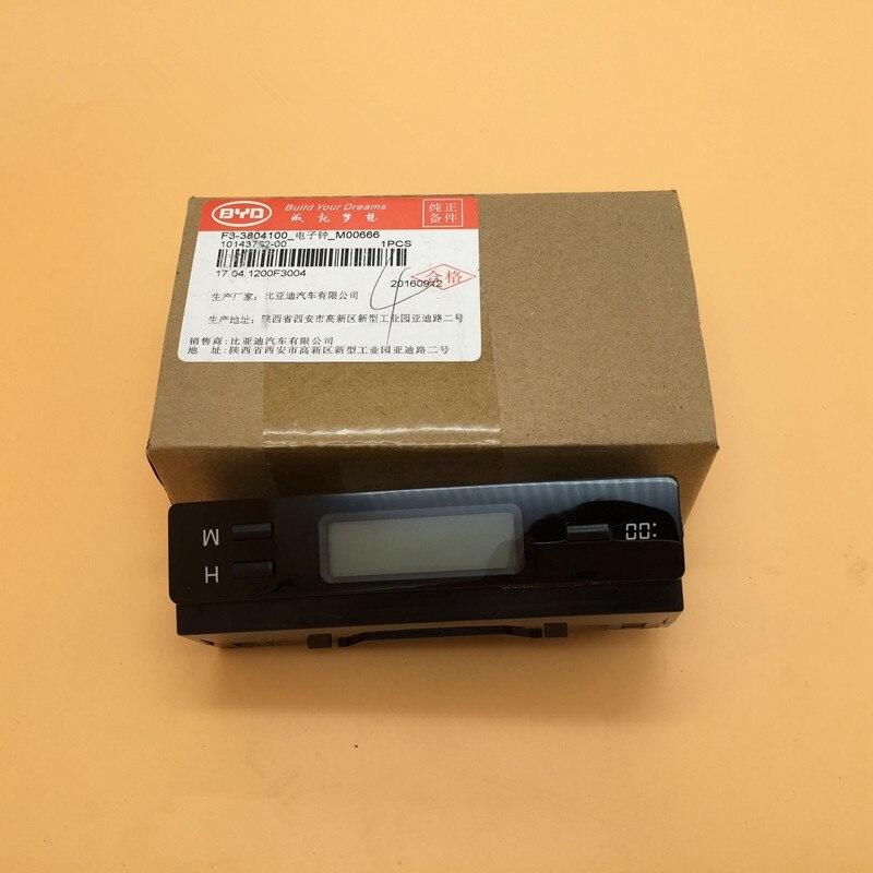 In-auto elektronische klok VOOR BYD F3 F3R Auto elektronische klok F3-3804100