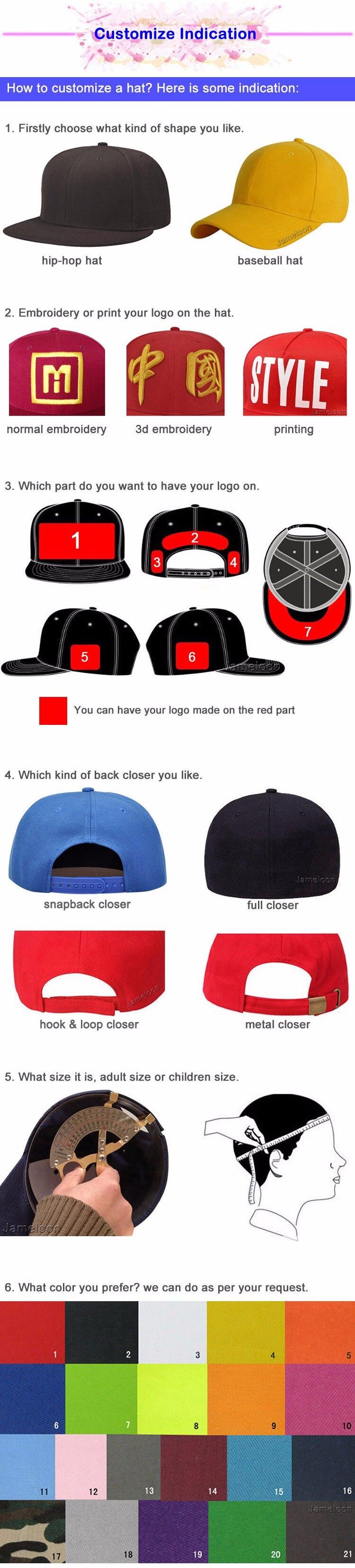 b8df5b1fb21 1pc logo custom Men s snapback baseball cap flat bill peak sport hat ...