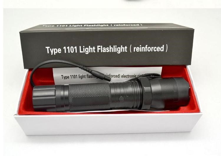 Rechargeable Camping and Hunting Tactical Defense Flashlight 1101 ...