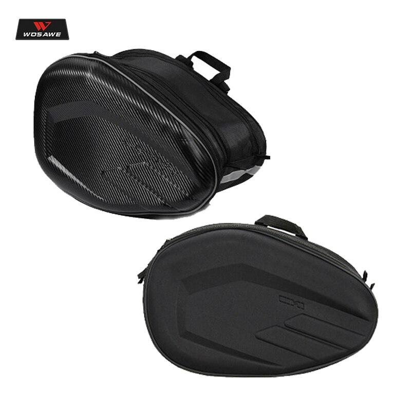 WOSAWE 2 pcs universel moto selle sacs queue sac sac à outils chevalier casque sac moto pièces pour Honda Suzuki Kawasaki