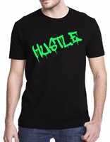 Fashion Creative Design Summer Hot Sale Hustle Urban Style Men S Printed High Quality Cotton T