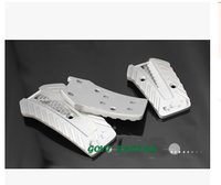GV P2001 Universal MOMO Pedals Manual Car Pads Aluminum 3pcs Set Fiesta Pedal Clutch Pedalsr Vw