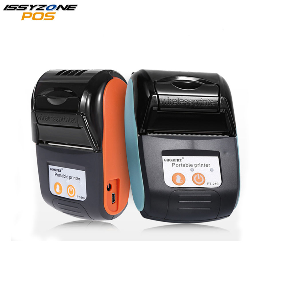 IssyzonePOS Bluetooth Thermal Printer 58MM Portable Mini Wireless Receipt Machine Free SDK for Windows Android IOS IMP026 simple centrometer pd optometry equipment optical digital pd ruler pupil distance measrue