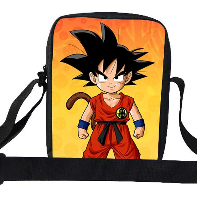 576a3b006147 2015 Cool Boys School Messenger Bags Cartoon Character Wukong Dragon Ball Messenger  Bag Kids Shoulder Bag For Children School