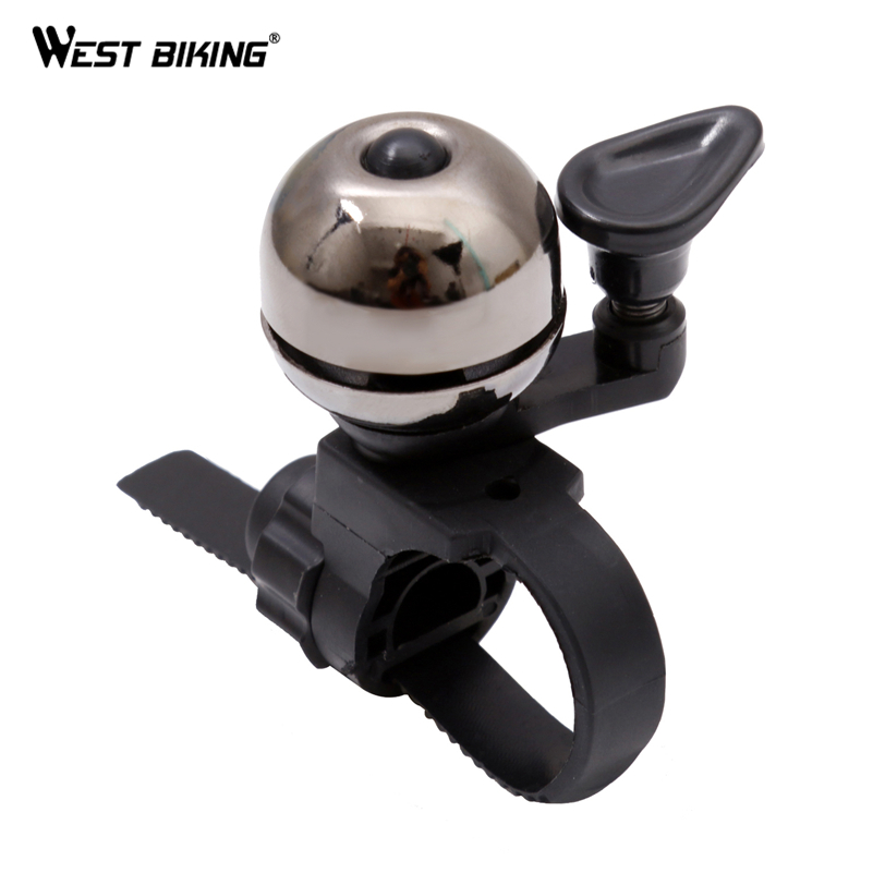 West Biking Bicycle Bell Pure Copper Bike Sound Handlebar Ring Horn Safety Alarm Bell Timbre Bicicleta Accessories Bicycle Bell west biking bicycle bell pure copper bike sound handlebar ring horn safety alarm bell timbre bicicleta accessories bicycle bell