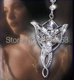 Fashion cosplay Arwen Evenstar Pendant necklace halloween props accessory