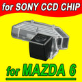 Rear view back reverse parking car camera cam for Mazda 6  NTSC PAL ( Optional)