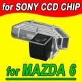 Retrovisor volta inversa cam câmera do carro de estacionamento para Mazda 6 PAL NTSC (Opcional)