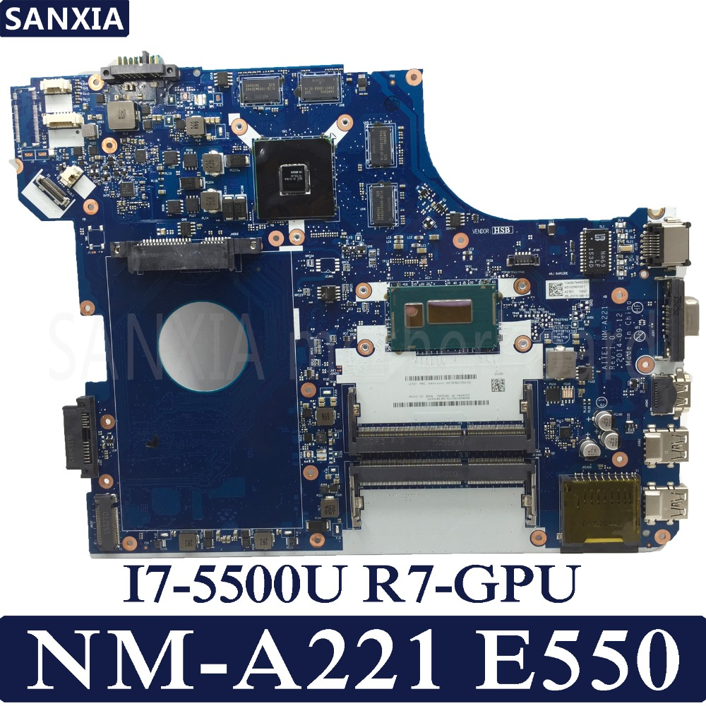 KEFU AITE1 NM A221 Laptop motherboard for Lenovo ThinkPad
