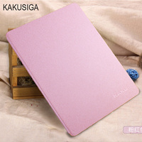 Luxury Stand Leather Case For Apple IPad Air 5 6 Air 2 Fashion Silk Slim Clear