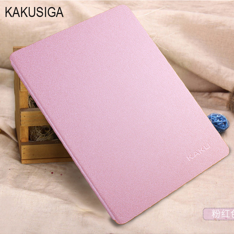 Luxury Stand Leather Case For Apple iPad Air 5 6 Air 2 KAKUSIGA Silk Slim Clear