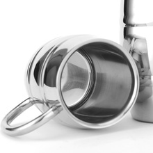 Silver Stainless Steel Mug for Beer/Coffee/Tea