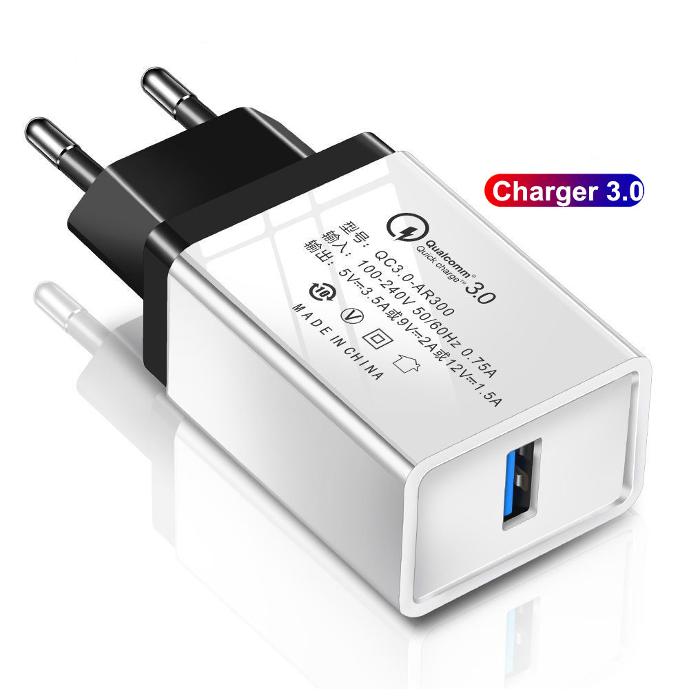 Quick Charge 3.0 Charger For Oukitel K12 K10 K9 K8 K7 Power K6 K5 K3 Wall Mobile Phone Charger Fast Charging For Oukitel Y4800(China)