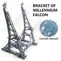 Вертикальный стенд MOC для Millennium Falcon, совместимый с lego Stand для № 05132 и № 75192 <font><b>Ultimate</b></font> Коллекционная модель