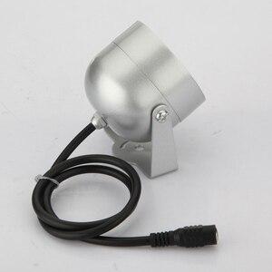 Image 5 - 2 adet 48 LED aydınlatıcı ışık CCTV IR kızılötesi gece görüş lambası güvenlik kamera için
