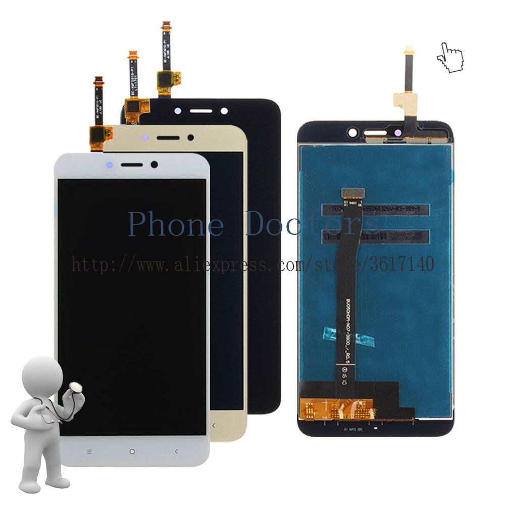 5.0'' Touch Screen Digitizer Glass + LCD Display Assembly For Xiaomi Hongmi 4X / Redmi 4x MAT136 ; New ; 100% Tested ; Tracking