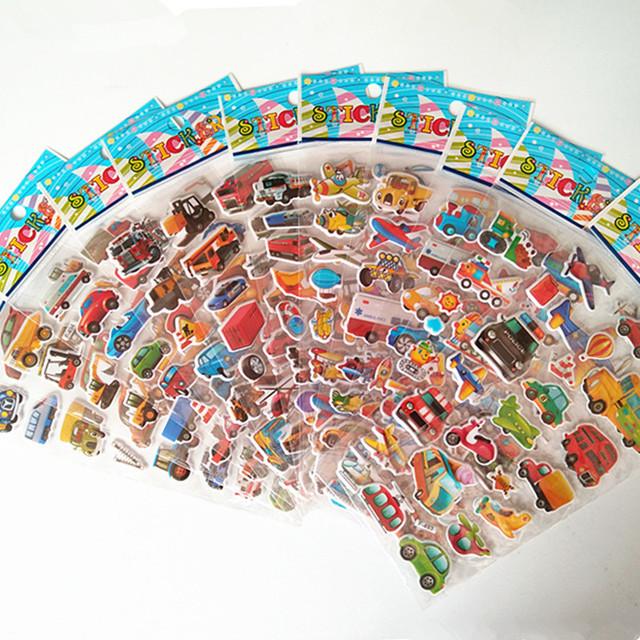 3D Cartoon PVC Stickers
