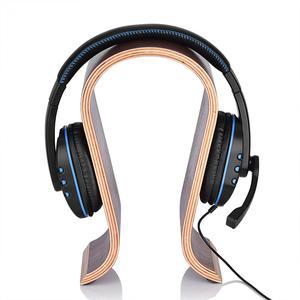 Image 3 - VBESTLIFE U Shape Wooden Headphones Stand Holder Universal for Sony Headset Desk Display Shelf Rack Hanger Stand Bracket for AKG