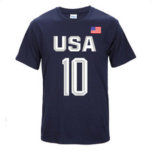 Мужские баскетбольные трикотажные баскетбольные удобные спортивные футболки с коротким рукавом и номером 10
