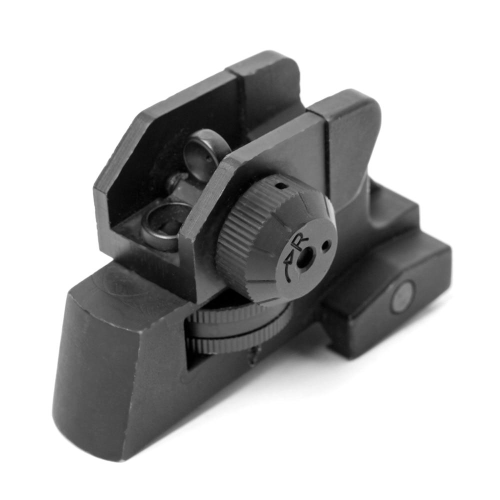 Съемный компактный задний прицел A2 M4/M16, задний прицел 223, регулируемое крепление для Пикатинни, аксессуары для охоты и стрельбы